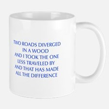 TWO-ROADS-OPT-BLUE Mugs