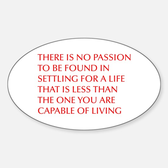 there-is-no-passion Decal