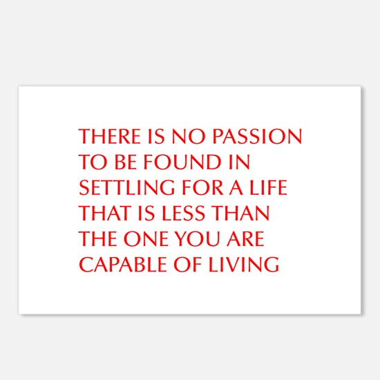 there-is-no-passion Postcards (Package of 8)