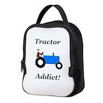 Blue Tractor Addict Neoprene Lunch Bag