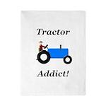 Blue Tractor Addict Twin Duvet