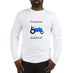 Blue Tractor Addict Long Sleeve T-Shirt