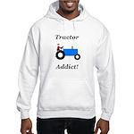 Blue Tractor Addict Hooded Sweatshirt