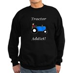 Blue Tractor Addict Sweatshirt (dark)