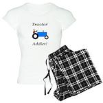Blue Tractor Addict Women's Light Pajamas