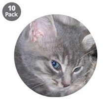 """Baby Gracie with her Mom 3.5"""" Button (10 pack)"""