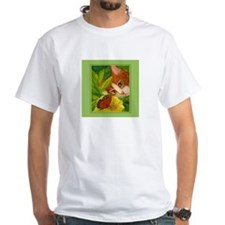 Ginger Cat & Butterfly Shirt