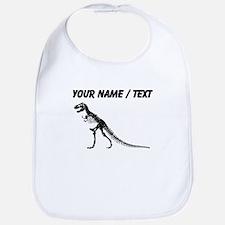 Custom T-Rex Skeleton Bib