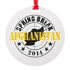 Spring Break Afghanistan 2014 Ornament