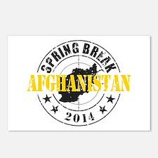 Spring Break Afghanistan 2014 Postcards (Package o