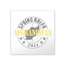 Spring Break Afghanistan 2014 Sticker