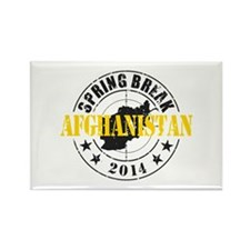 Spring Break Afghanistan 2014 Magnets