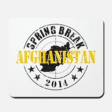 Spring Break Afghanistan 2014 Mousepad