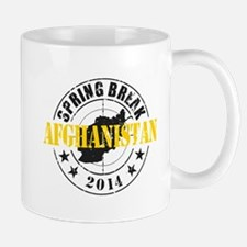 Spring Break Afghanistan 2014 Mugs