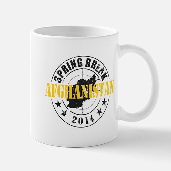 Spring Break Afghanistan 2014 Mugs