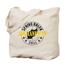 Spring Break Afghanistan 2014 Tote Bag