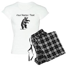 Custom Grizzly Bear Sketch Pajamas