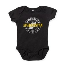 Spring Break Afghanistan 2014 Baby Bodysuit