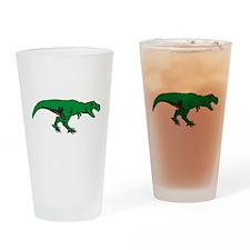 T Rex 3 Drinking Glass