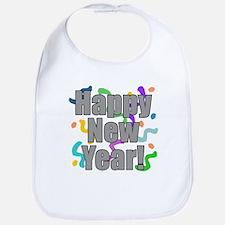 Happy New Year Kids Shirt Bib