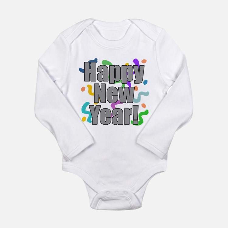 Happy New Year Kids Shirt Body Suit