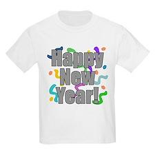 Happy New Year Kids Shirt T-Shirt