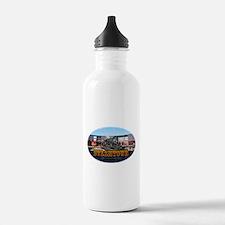 steamtownovalBlack.png Water Bottle