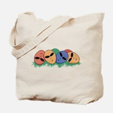 Alien Easter Eggs Tote Bag
