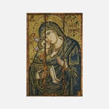 Madonna Virgin Mary Rectangle Magnet