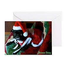 Princess Daisy Christmas Greeting Card