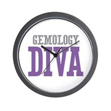 Gemology DIVA Wall Clock