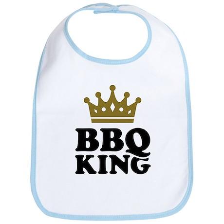BBQ King crown Bib