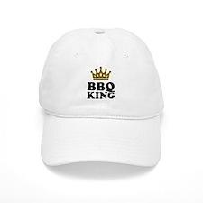BBQ King crown Baseball Baseball Cap