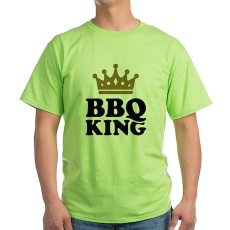 BBQ King crown Green T-Shirt