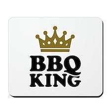 BBQ King crown Mousepad