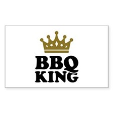 BBQ King crown Decal