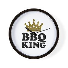 BBQ King crown Wall Clock