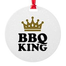 BBQ King crown Ornament