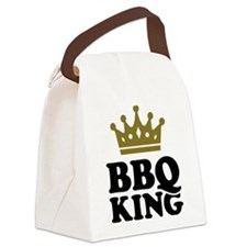 BBQ King crown Canvas Lunch Bag