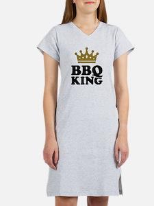 BBQ King crown Women's Nightshirt