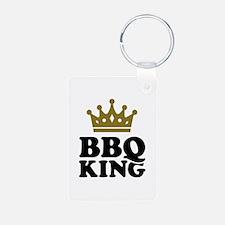 BBQ King crown Keychains