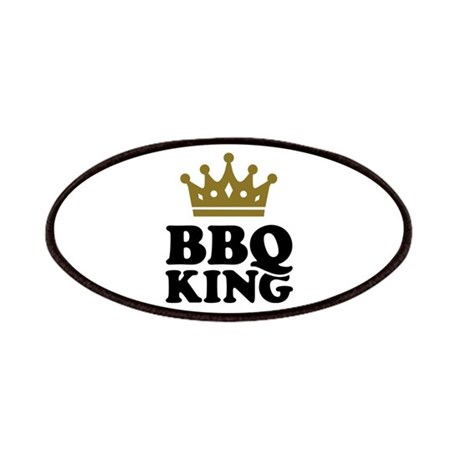 BBQ King crown Patches