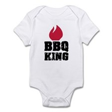 BBQ King fire Infant Bodysuit