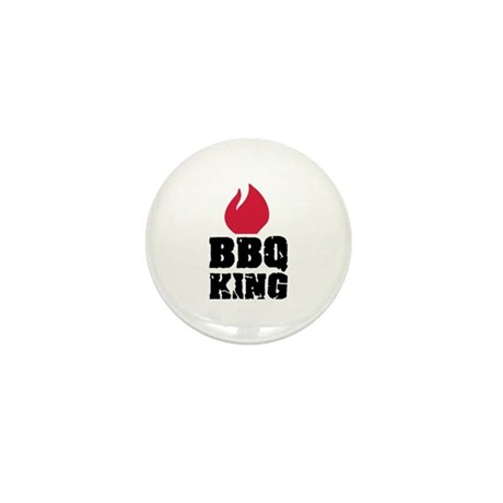 BBQ King fire Mini Button (10 pack)