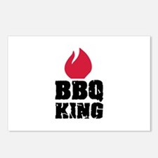 BBQ King fire Postcards (Package of 8)