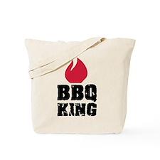 BBQ King fire Tote Bag