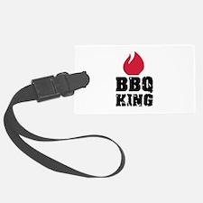 BBQ King fire Luggage Tag