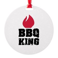 BBQ King fire Ornament