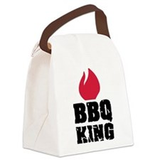BBQ King fire Canvas Lunch Bag