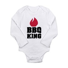 BBQ King fire Long Sleeve Infant Bodysuit